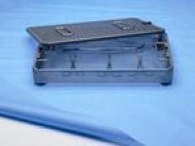 stericlin® Bogenverpackung interleaved ´Vlies blau/ grün 52 g
