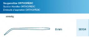 Saugansatz Orthopädic 6 mm flache Spitze einteilig Handgriff Blase, steril