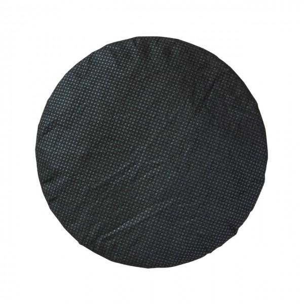 Kopfhörerhygieneschutz 9cm schwarz