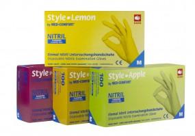 Style Grenadine Nitril Handschuhe magenta