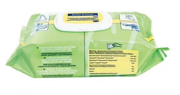 Bacillol® AF Tissues, Desinfektionstücher