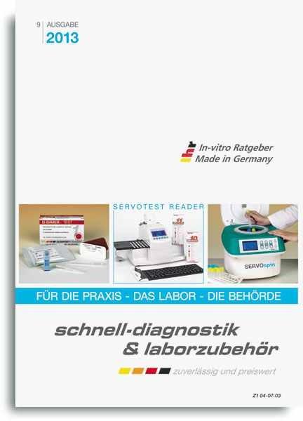 Katalog Schnelldiagnostik