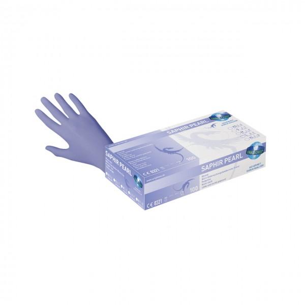 Unigloves Saphir Einmalhandschuhe Nitril saphirblau