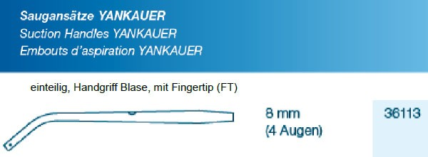 Saugansatz Yankauer Large