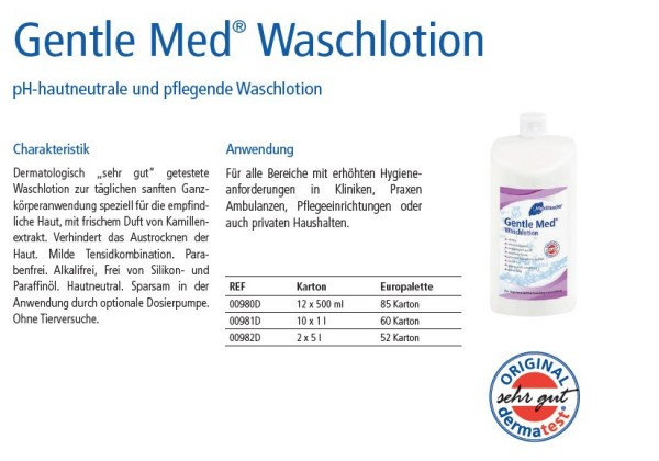Gentle Med® Waschlotion 1 Liter