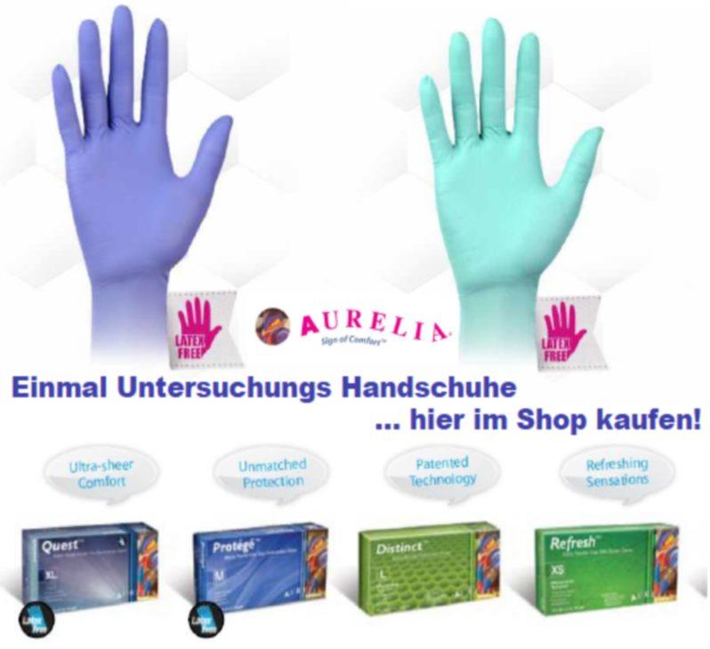 Einmal Handschuhe