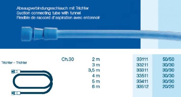 OP Schlauch Trichter - Trichter CH30 300cm, steril