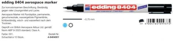 edding 8404 aerospace marker