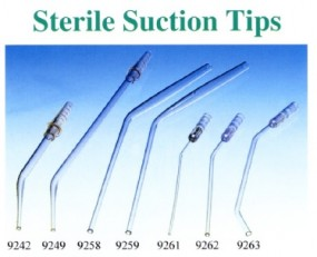 Ear suction tip 2/3 mm sterile