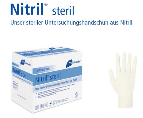 Nitril® steril, Box 50 Paar