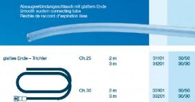 OP Schlauch Trichter - glatt CH30 300cm, steril