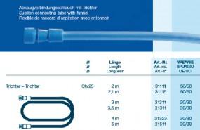 OP Schlauch Trichter - Trichter CH25 300cm steril