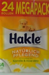 Hakle Toilettenpapier, Kamille & Aloe vera, 24er