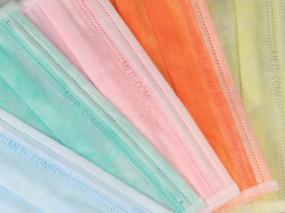 Med-Comfort Mundschutz verschiedene Farben (Box mit 50 Stück)