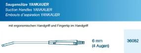 Saugansatz Yankauer FT medium 6 mm, 4 Augen mit Handgriff, steril