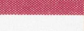 Wäschewickelsack weiß - rot (VE 1 Stück)